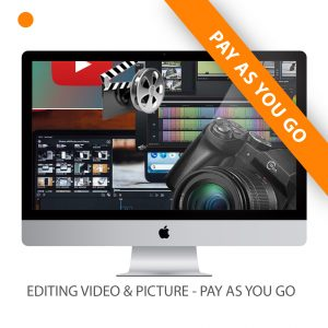 VIDEO EDITING – PAY AS YOU GO (PER HOUR)